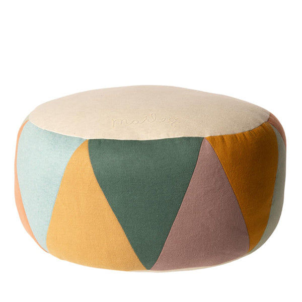 Maileg Pouf, Large Drum - Multi