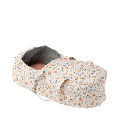 Maileg Quilt Carry Cot - Blue