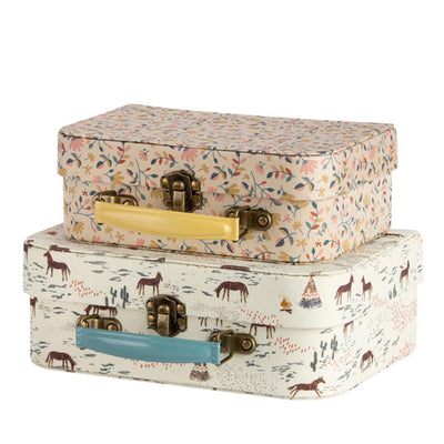 Maileg Suitcase with Fabric - 2 pcs.
