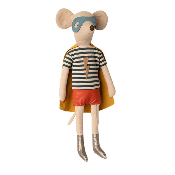Maileg Super Hero Mouse, Maxi - Boy