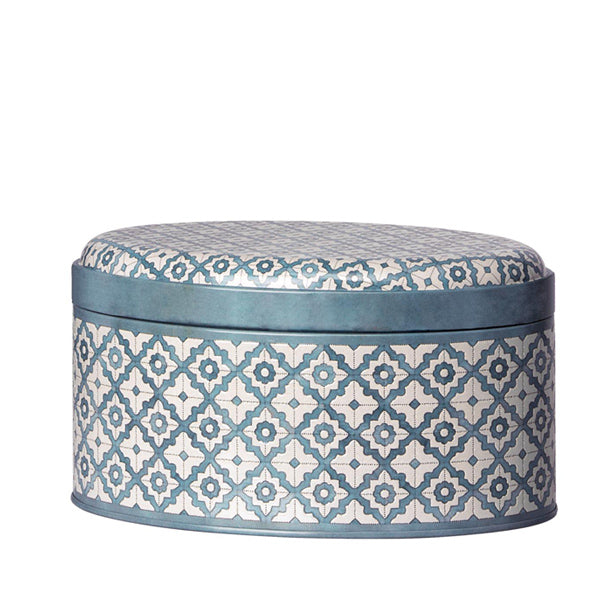 Maileg Metal Box Sweet Delight - Blue