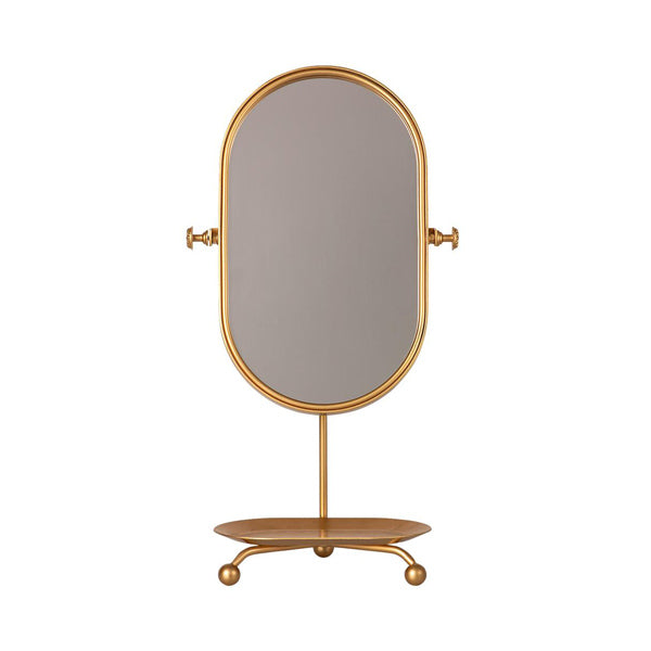 Maileg Table Mirror - Gold