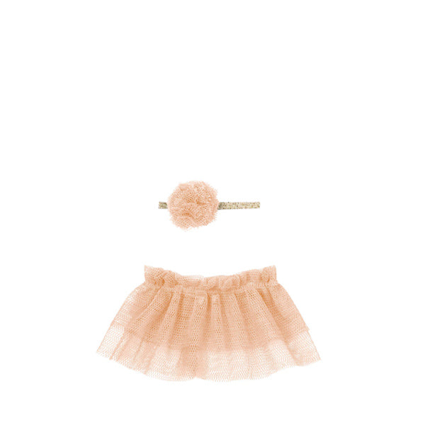 Maileg Tutu & Hairband for Mini - Rose
