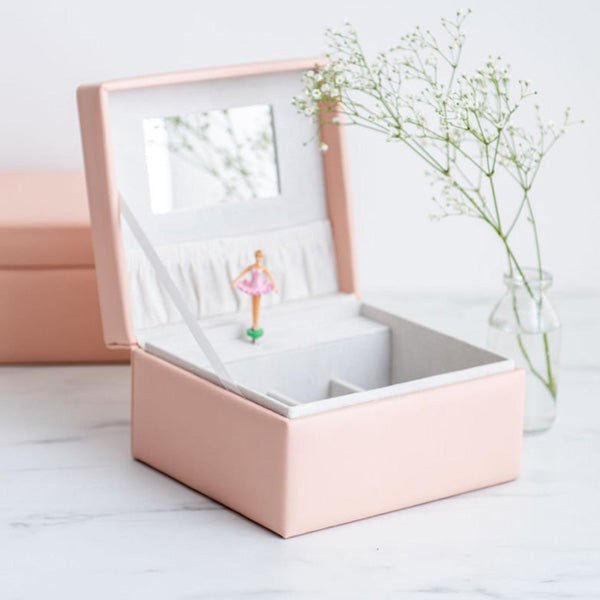 Meminio Musical Jewellery Box - Blush Pink