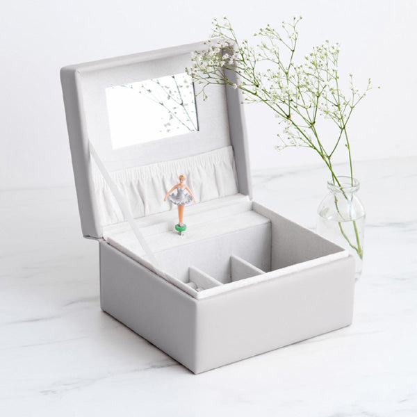 Meminio Musical Jewellery Box - Grey