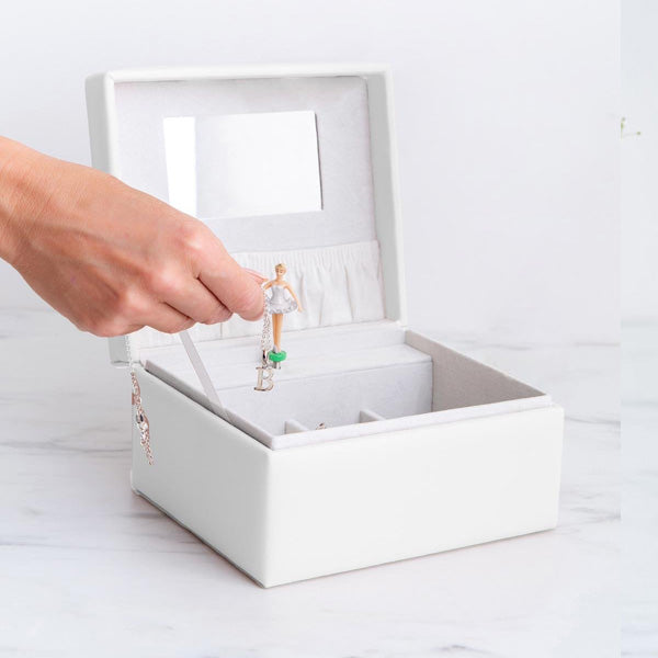 Meminio Musical Jewellery Box - Ivory