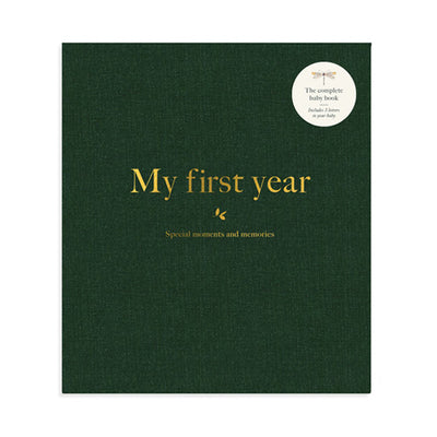 Milestone ABC Baby First Year Album