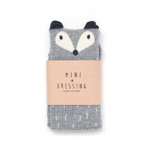 Mini Dressing Fox Grey Raccoon Knee Socks