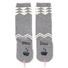 Mini Dressing Grey Snake Knee Socks