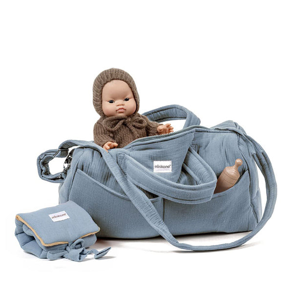 Minikane Bag NOMADE - Blue Artic