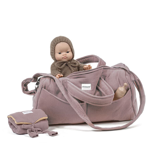 Minikane Bag NOMADE - Rose Orchidée