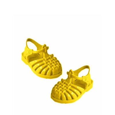 Minikane x Méduse Beach Sandals - Yellow Sun