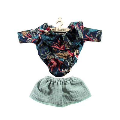 Minikane Paola Reina Baby Doll Body Set Fantasy - Skirt Green