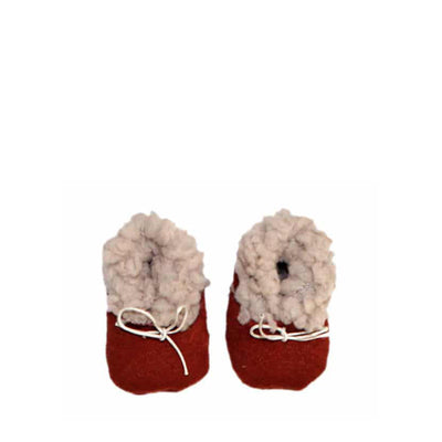 Minikane Paola Reina CAPSULE COLLECTION Baby Doll Boots – Terracotta
