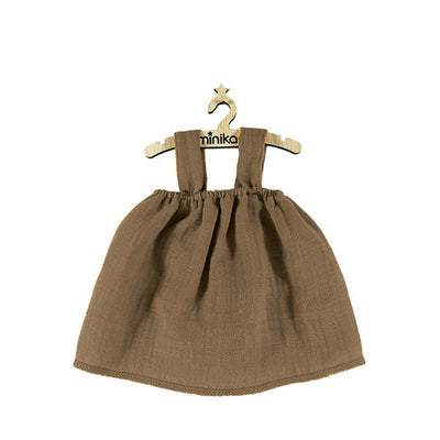 Minikane Paola Reina Baby Doll Dress MILA – Chestnut