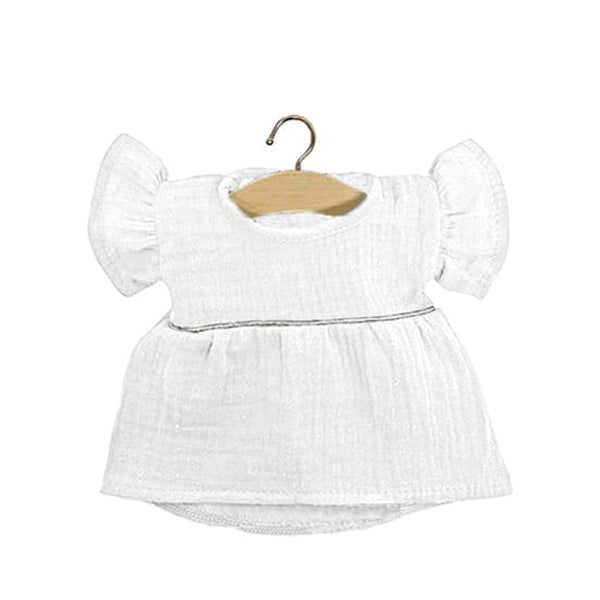Minikane Paola Reina Baby Doll Dress DAISY - White