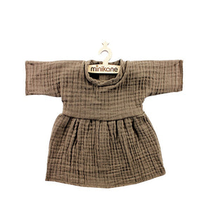 Minikane Paola Reina Baby Doll Dress – Chestnut