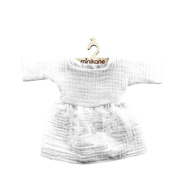 Minikane Paola Reina Baby Doll Dress – White