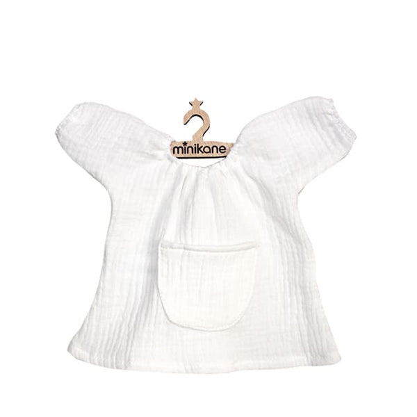 Minikane Paola Reina Baby Doll Dress JEANNE – White