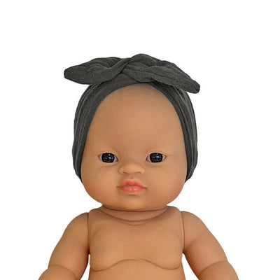 Minikane Paola Reina Baby Doll Head Band – Anthracite