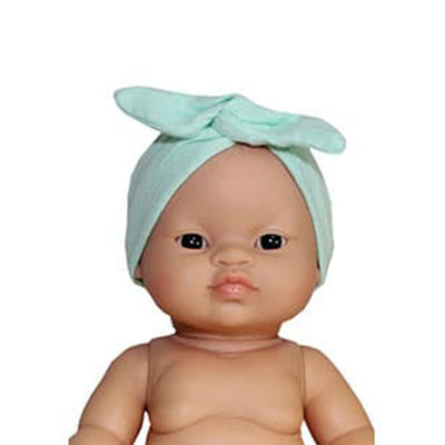 Minikane Paola Reina Baby Doll Head Band – Mint