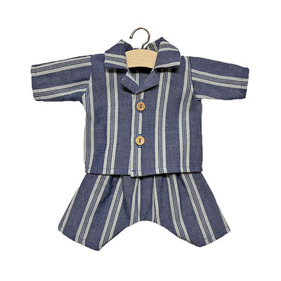 Minikane Paola Reina Baby Doll Pyjamas ALBERT - Linen - Striped