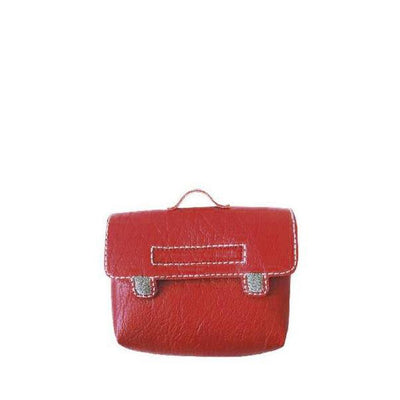 Paola Reina Baby Doll Satchel – Red