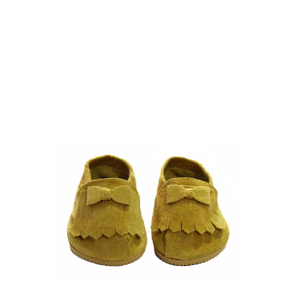 Minikane Paola Reina Baby Doll Loafers Shoes – Mustard