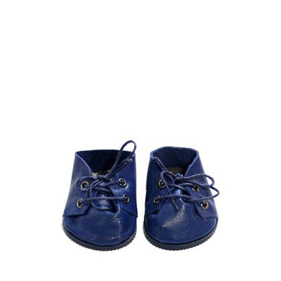 Minikane Paola Reina Baby Doll Lace-Up Shoes – Blue