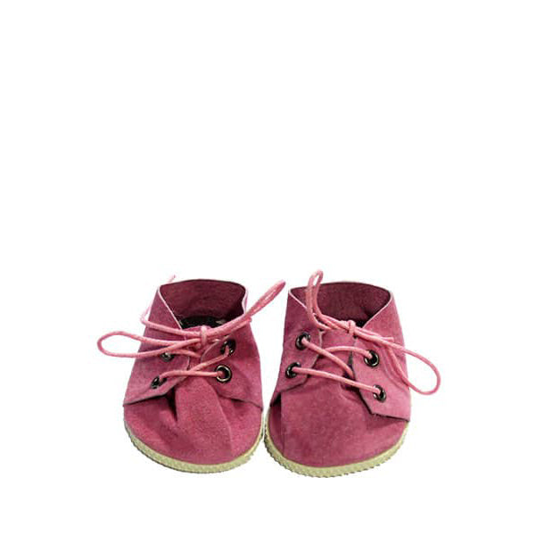 Minikane Paola Reina Baby Doll Lace-Up Shoes – Rose
