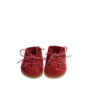 Minikane Paola Reina Baby Doll Lace-Up Shoes – Red