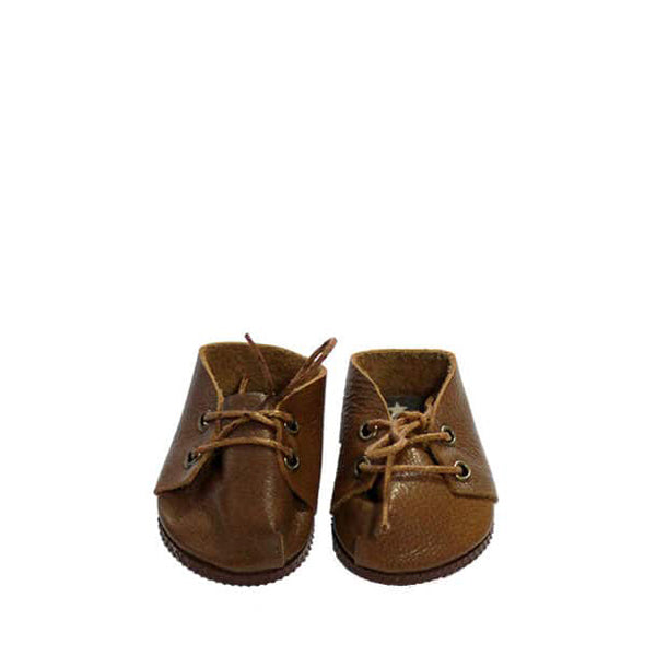Minikane Paola Reina Baby Doll Lace-Up Shoes – Marron