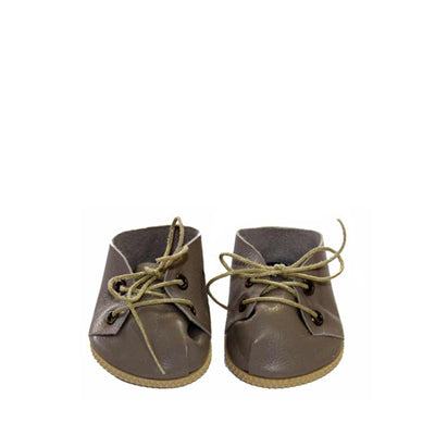 Minikane Paola Reina Baby Doll Lace-Up Shoes – Taupe