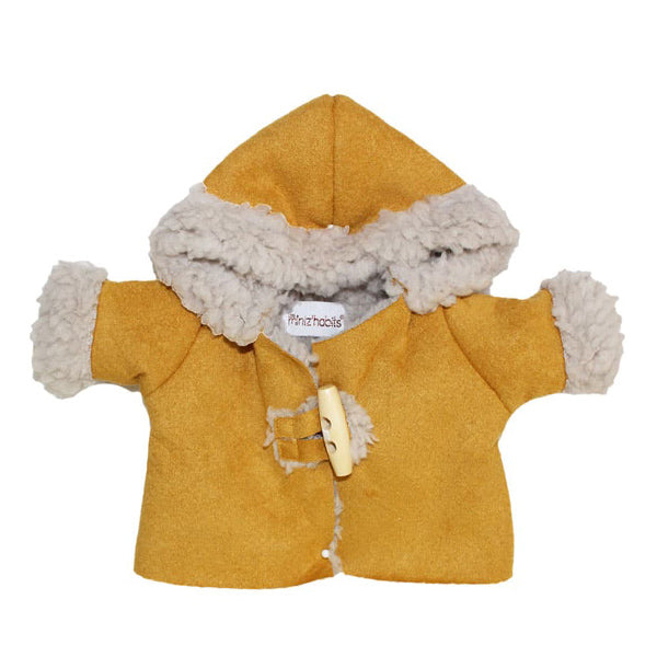 Minikane Paola Reina CAPSULE COLLECTION Winter Coat – Mustard