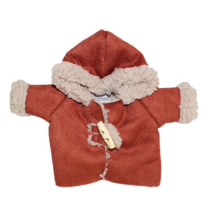 Minikane Paola Reina CAPSULE COLLECTION Winter Coat – Terracotta