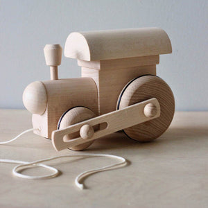 Miva Wooden Pull Along Toy - Train