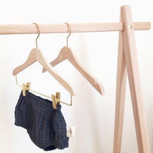 Mum and Dad Factory Clamp Clothes Hanger - Child