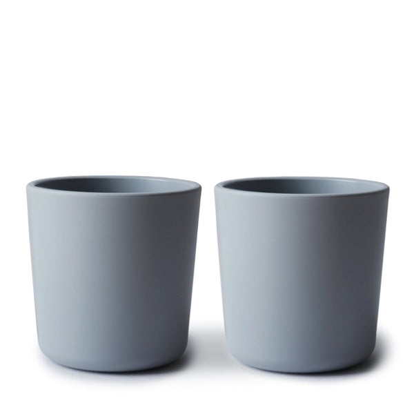 Mushie Dinnerware Cup, Set of 2 - Cloud