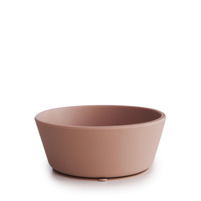 Mushie Silicone Suction Bowl - Blush