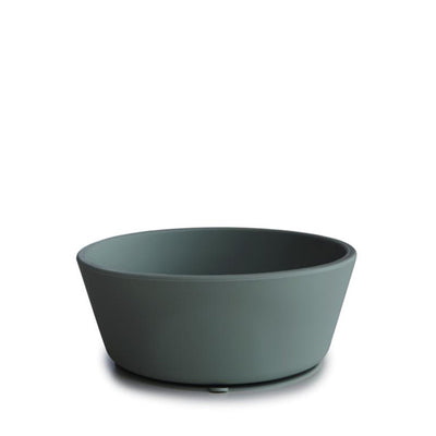 Mushie Silicone Suction Bowl - Dried Thyme