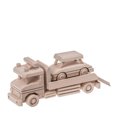 Wooden Tow Truck - Natural