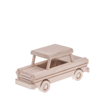 Wooden Trabant - Natural