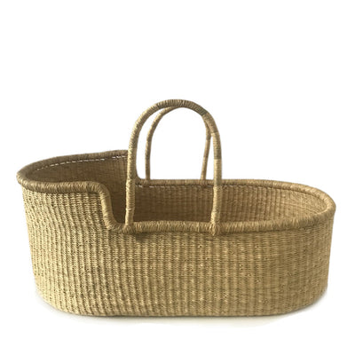 Natural Baby Moses Basket – Vegan