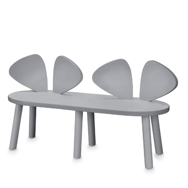 Pleasant Nofred Mouse Bench Grey Gmtry Best Dining Table And Chair Ideas Images Gmtryco