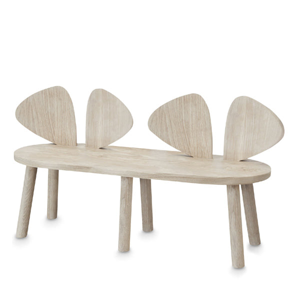 NoFred Mouse Bench - Oak
