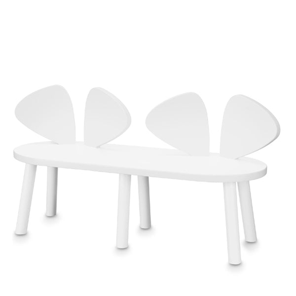NoFred Mouse Bench – White