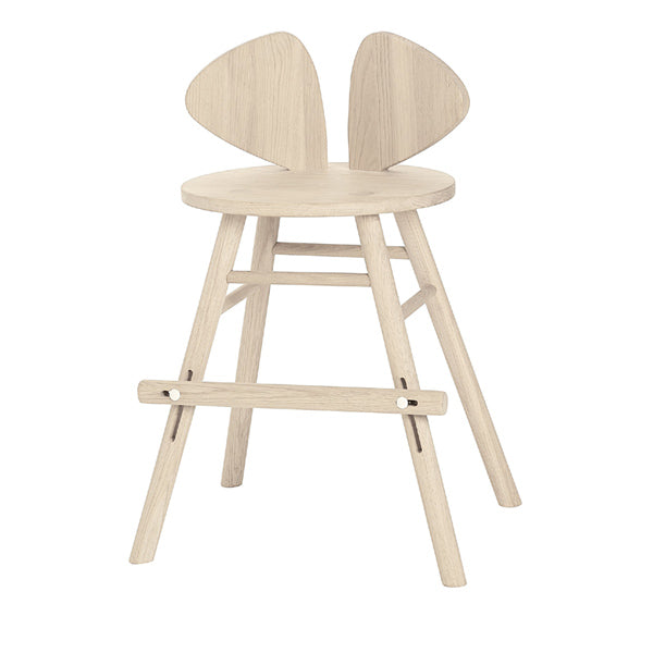 NoFred Mouse Chair Junior - Oak