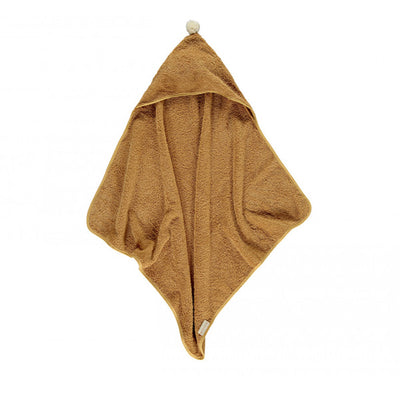 Nobodinoz So Cute Baby Bath Cape - Caramel