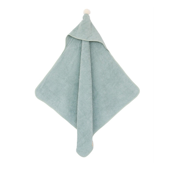 Nobodinoz So Cute Baby Bath Cape – Green
