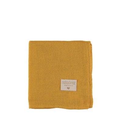 Nobodinoz Baby Love Swaddle – Farniente Yellow